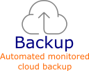 Automated online backup