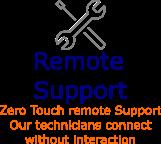 Zero Touch Remote Support